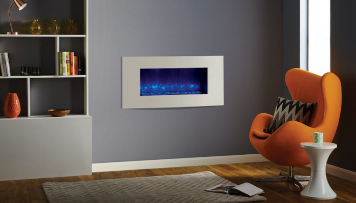 Radiance 85R verve xs in Ivory moved wall and black glass beads mi