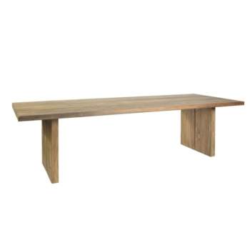 Borek reclaimed teak Sevilla table Sq