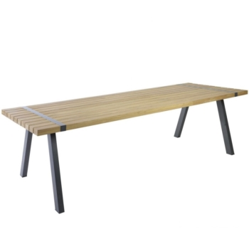 Borek teak alu Twisk table Sq