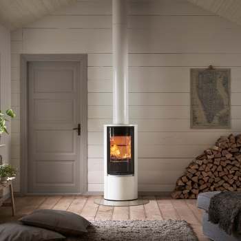 contura 510g style white chimney Sq